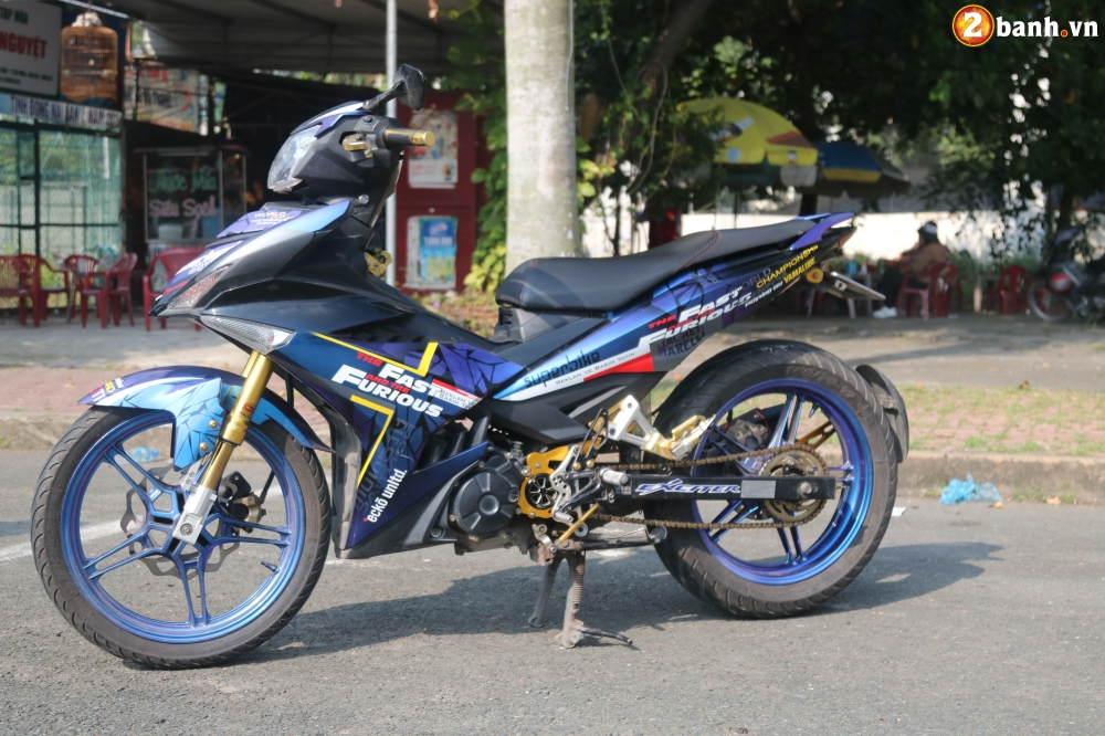 Exciter 150 kieng nhe an tuong voi bo canh Fast and Furious - 5