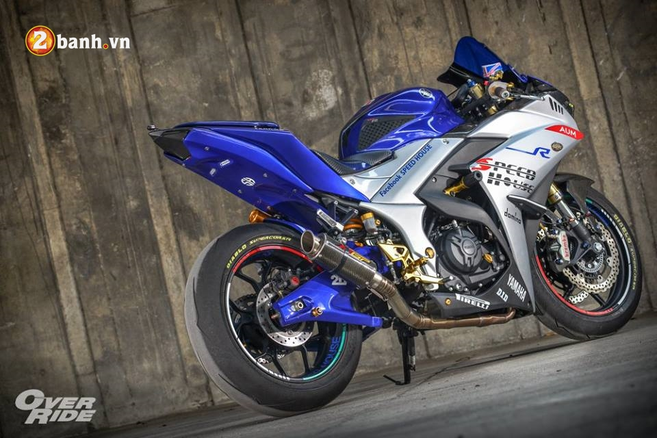 Yamaha YZFR3 hoan hao trong ban do khung long Full Sport Option - 21