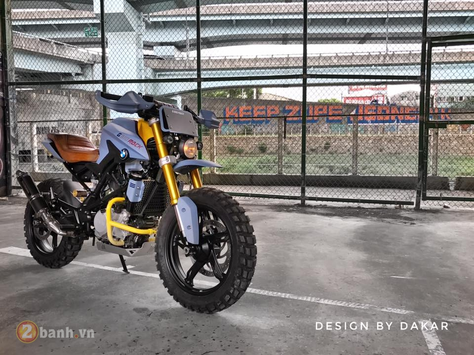BMW G310R do lot xac day ngoan muc cua biker Dai Loan - 6
