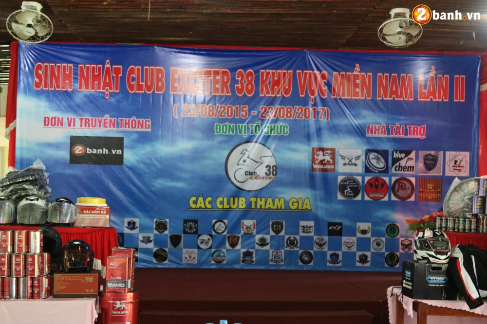Cong dong biker do ve mung Club Exciter 38 khu vuc Mien Nam tron II tuoi - 6