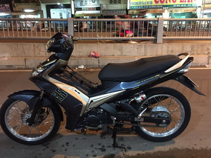 Exciter 135 do day tam huyet voi phien ban xe so tu dong - 3