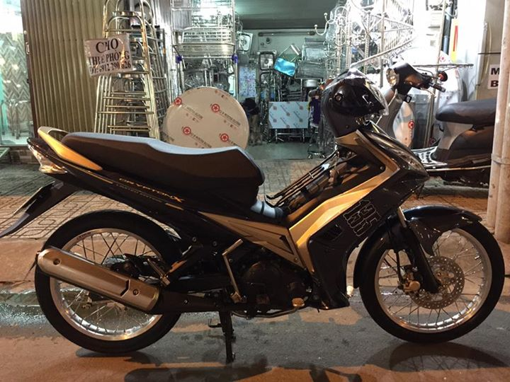 Exciter 135 do day tam huyet voi phien ban xe so tu dong - 10