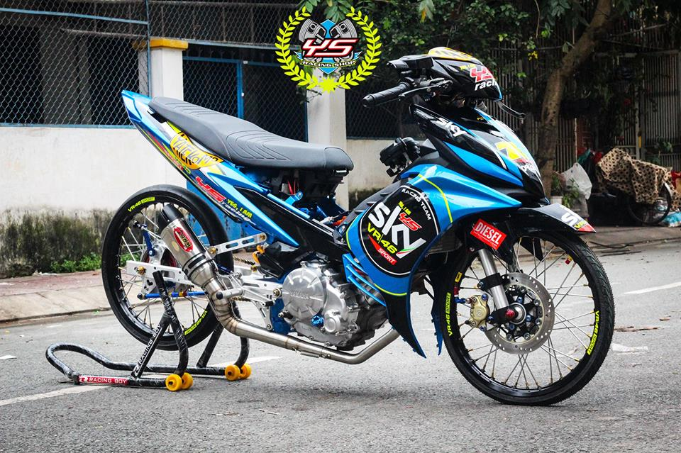 Exciter 135 do phong cach Drag day manh me uy luc - 3