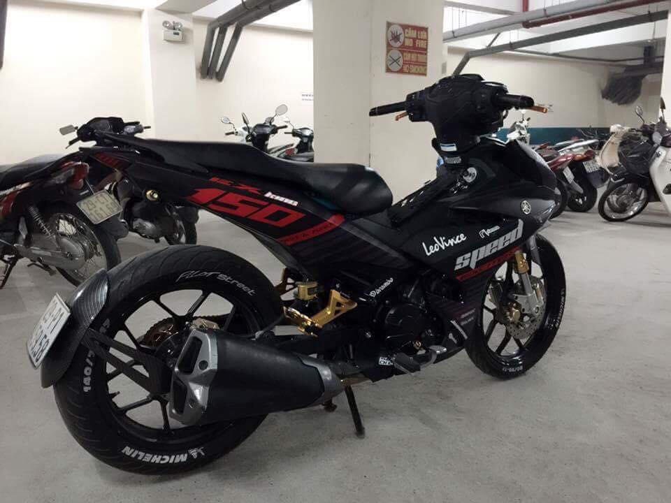 Exciter 150 do ham ho day uy luc voi nong sung Z1000 - 7
