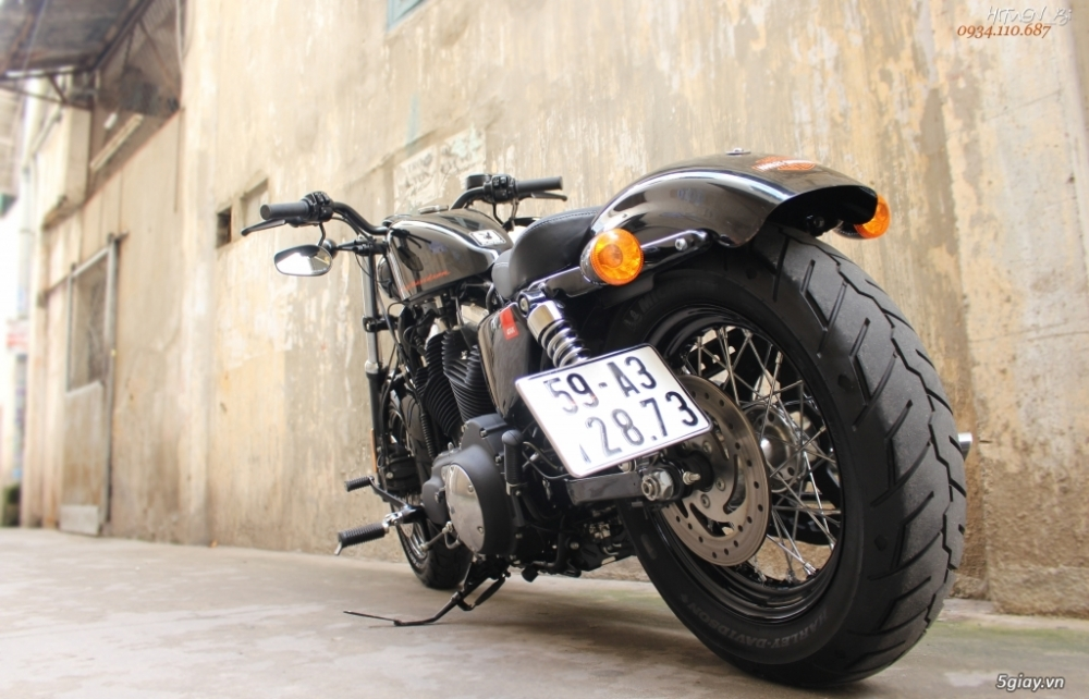___ Can Ban ___HARLEY DAVIDSON FortyEight 1200cc ABS 2015___ - 2