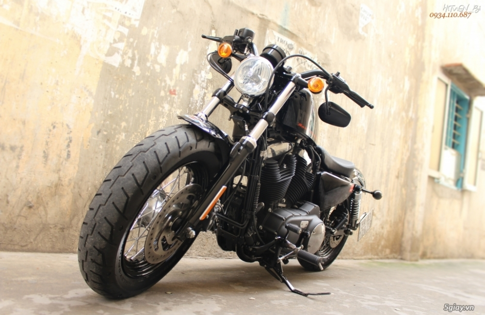 ___ Can Ban ___HARLEY DAVIDSON FortyEight 1200cc ABS 2015___ - 4