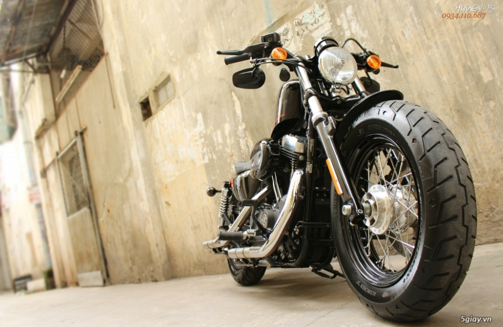 ___ Can Ban ___HARLEY DAVIDSON FortyEight 1200cc ABS 2016___ - 6