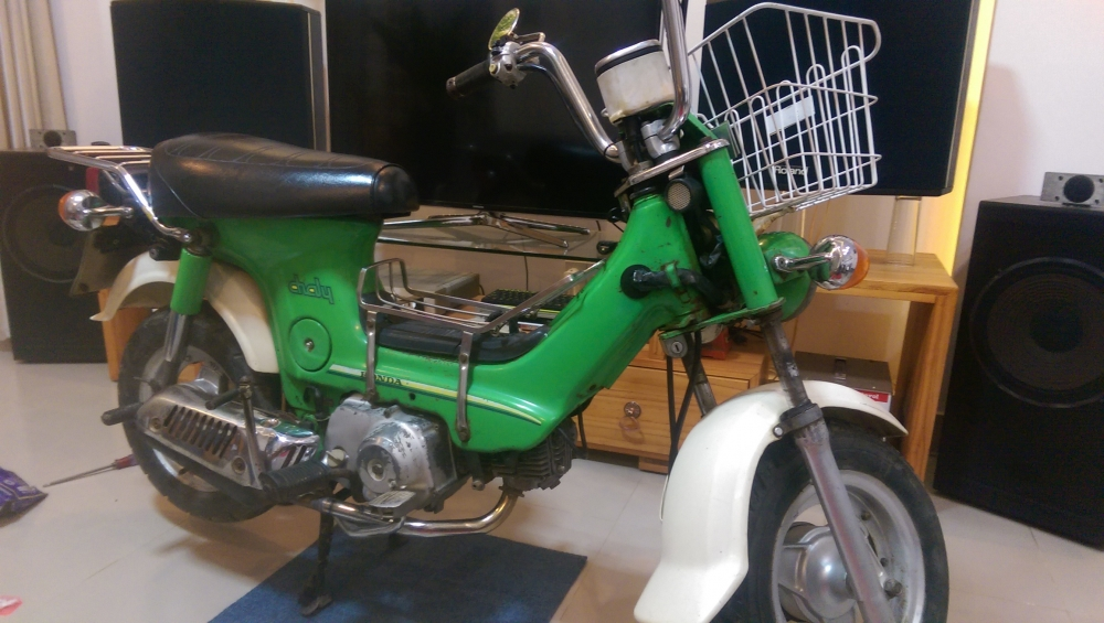 Do Xe Chaly 50 cc
