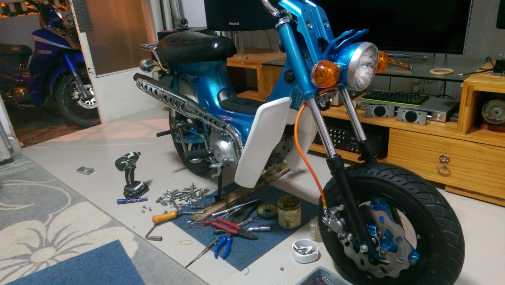 Do Xe Chaly 50 cc - 4