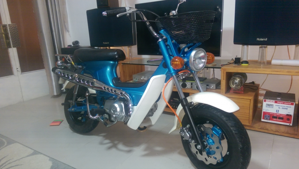 Do Xe Chaly 50 cc - 7
