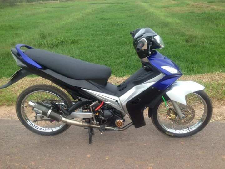 Exciter 135 do day cung cap va tho bao voi co may 62zz - 3