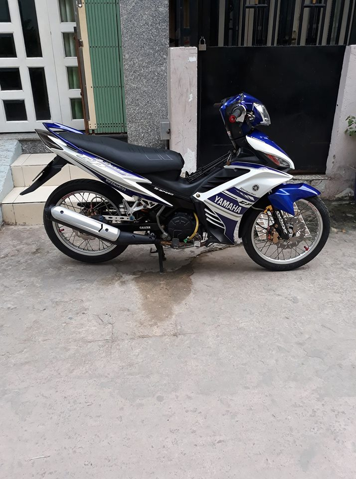 Exciter 135 do don nhe nhang voi phong cach LC 135 day tao bao - 3