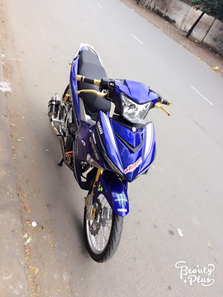 Exciter 150 do ba chay voi dan chan sieu chat luong - 4