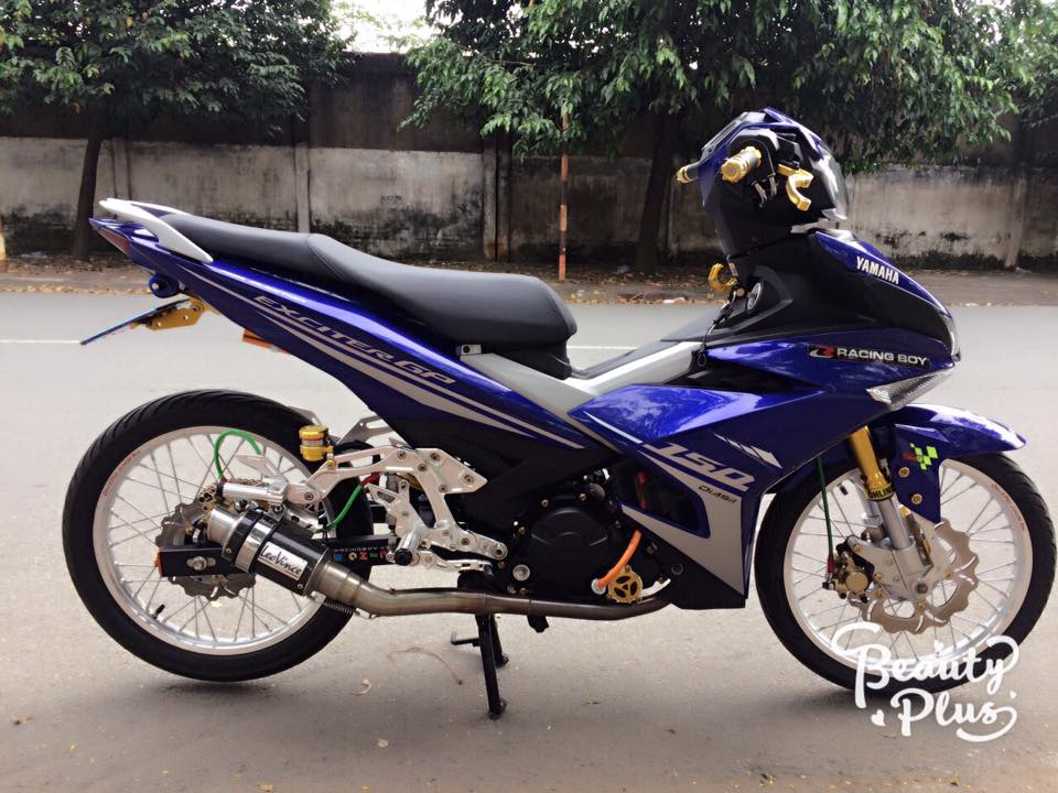 Exciter 150 do ba chay voi dan chan sieu chat luong - 5