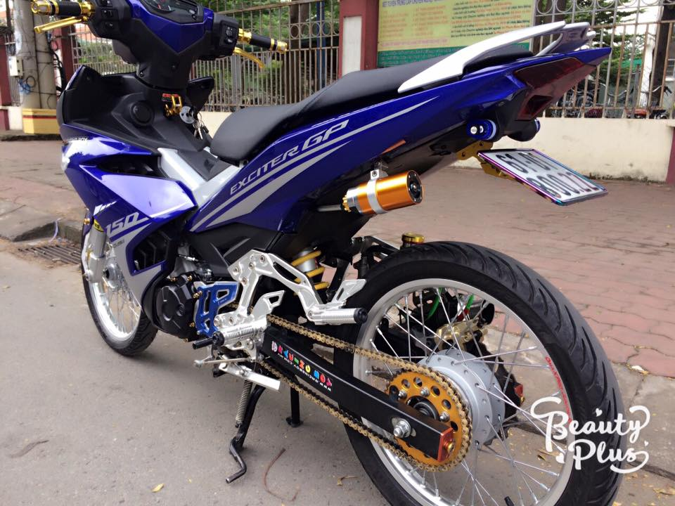 Exciter 150 do ba chay voi dan chan sieu chat luong - 6