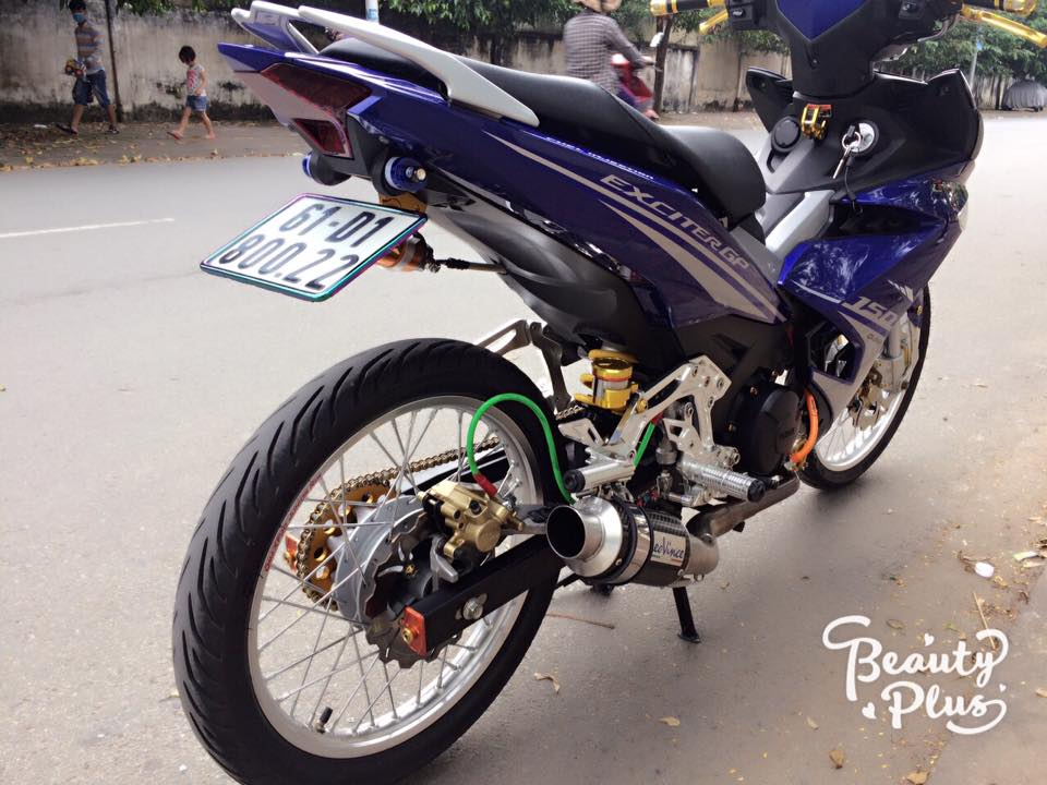 Exciter 150 do ba chay voi dan chan sieu chat luong - 7
