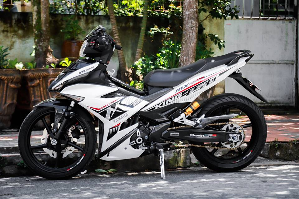 Exciter 150 do dan chan MT07 cuc ngau day sang tao - 8