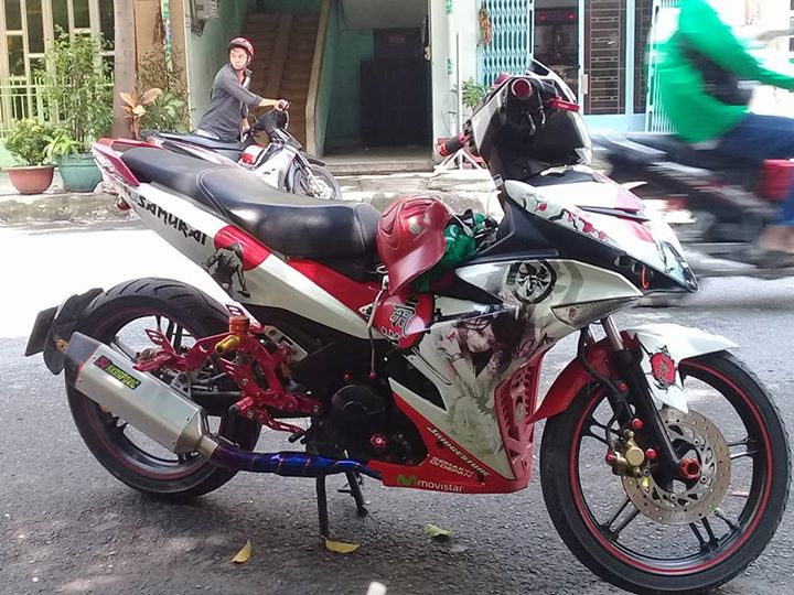 Exciter 150 do day an tuong voi hoi tho manh thu gian du - 3