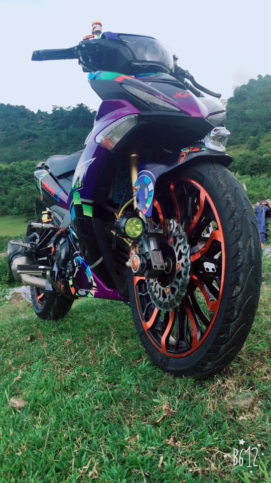 Exciter 150 do day noi bat trong bo canh 7 mau kha the thao - 4