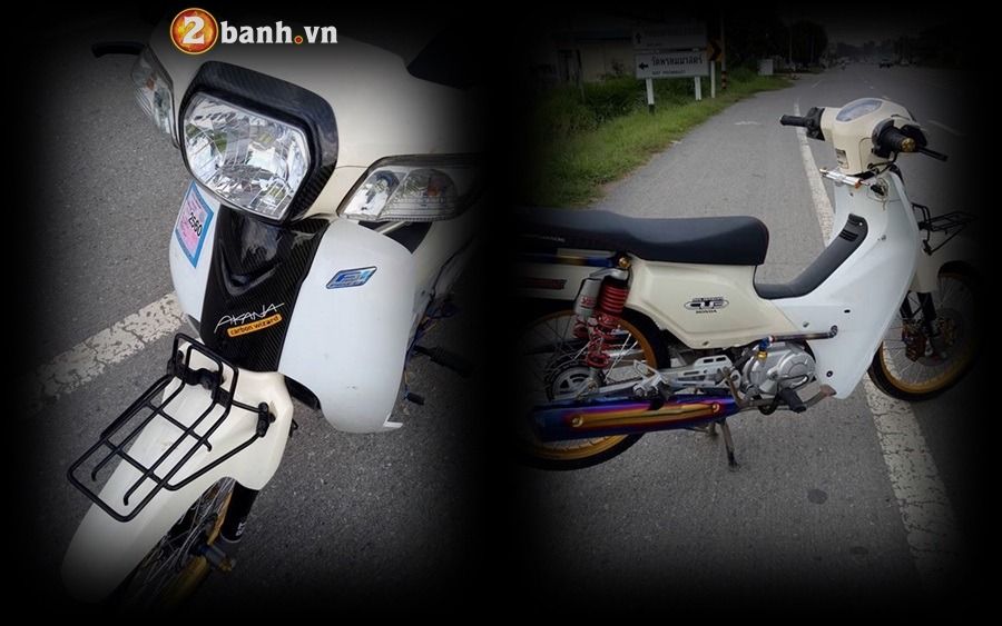 Honda Cub Fi do nho gon voi khoi do hoang toc
