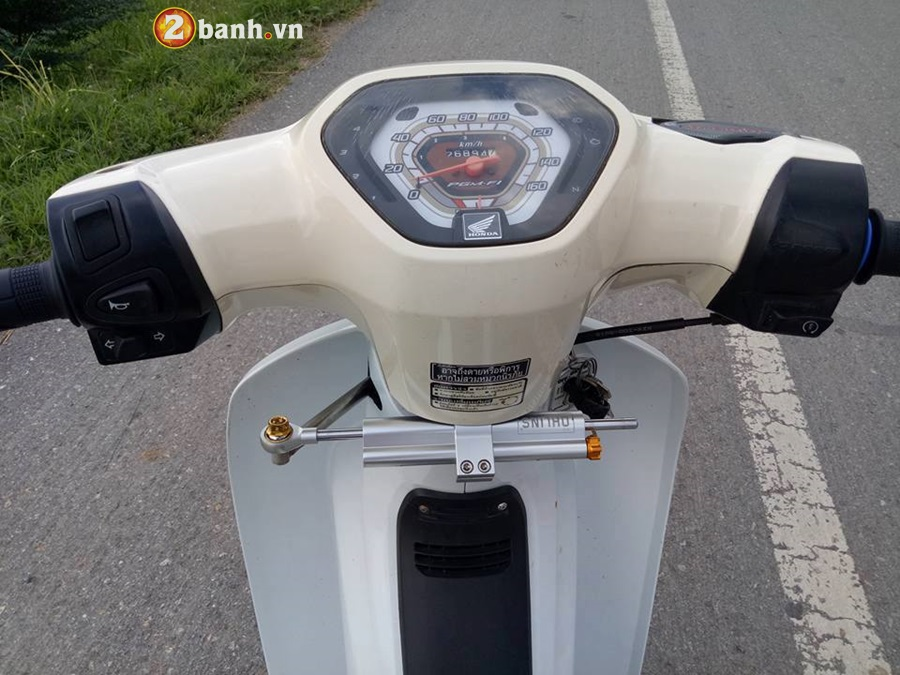 Honda Cub Fi do nho gon voi khoi do hoang toc - 5