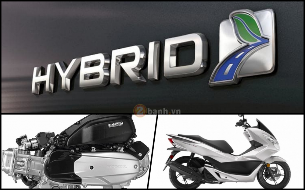 Honda PCX 150 the he tiep theo se su dung cong nghe Hybrid