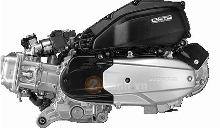 Honda PCX 150 the he tiep theo se su dung cong nghe Hybrid - 3