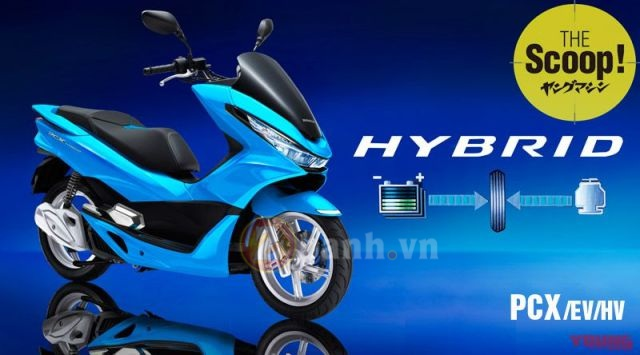 Honda PCX 150 the he tiep theo se su dung cong nghe Hybrid - 5