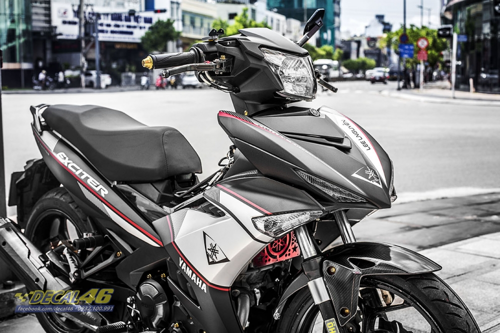 Tem xe Exciter 150 Limited Edition trang den tai Decal 46 - 3