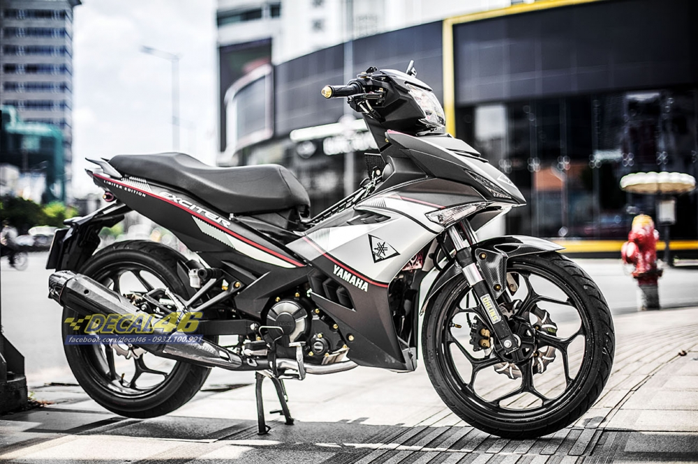 Tem xe Exciter 150 Limited Edition trang den tai Decal 46 - 2