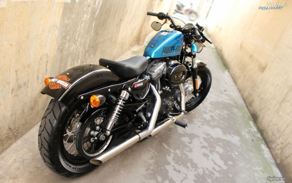 ___ Can Ban ___HARLEY DAVIDSON FortyEight 1200cc ABS 2015 Hard Candy___ - 8