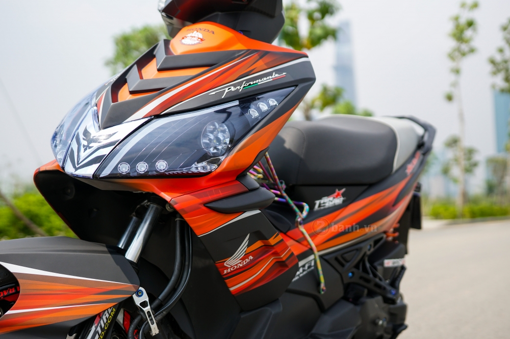 Air Blade 110 do chat den tu biker Sai Thanh - 2