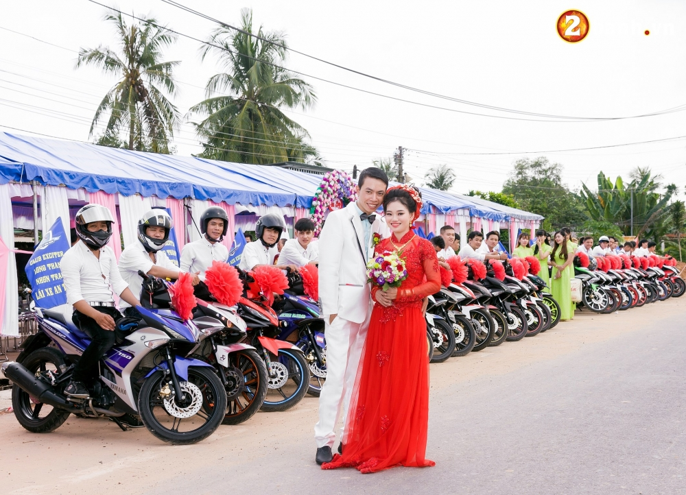 Club Exciter ACE Long Thanh Nhon Trach voi doi hinh 40 chiec Exciter cuop dau day hoanh trang - 17