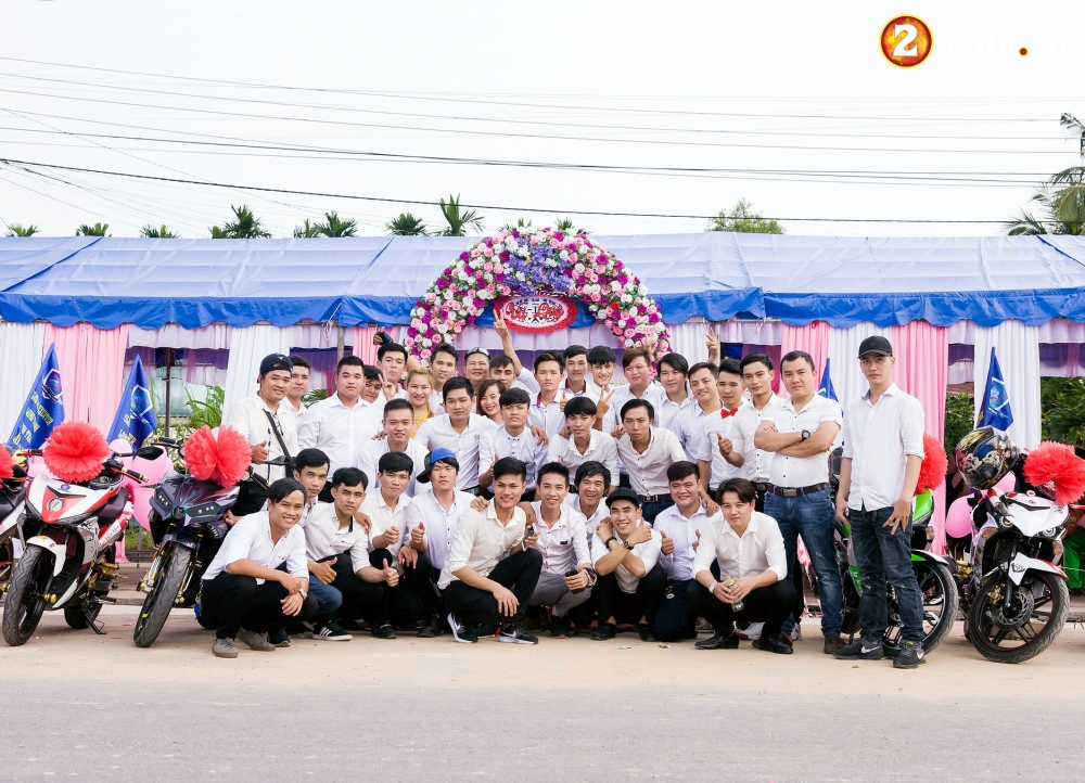 Club Exciter ACE Long Thanh Nhon Trach voi doi hinh 40 chiec Exciter cuop dau day hoanh trang - 19
