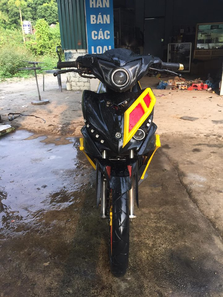 Exciter 135 do an tuong voi phong cach quai vat Ducati - 6