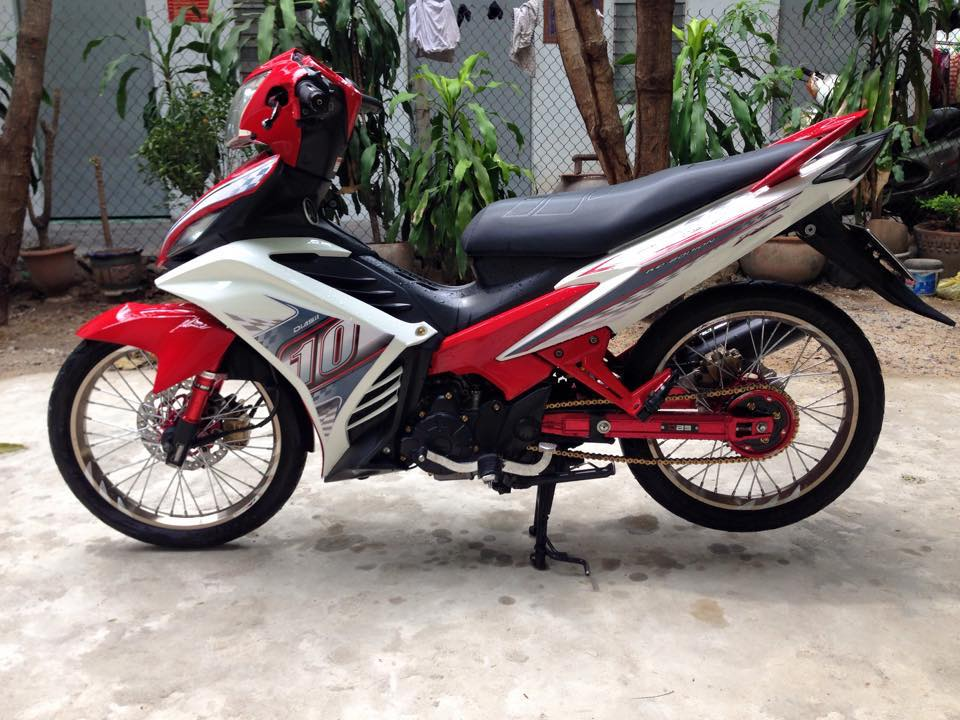 Exciter 135 do ruc ro voi sac do noi bat cua biker Viet - 3