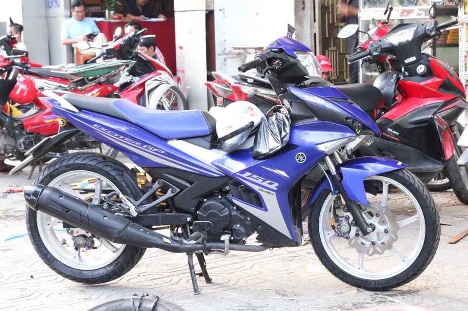 Exciter 150 do an tuong voi dan chan chat luong cao - 3