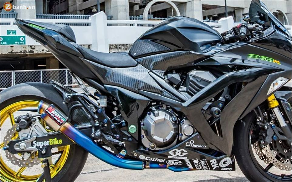 Kawasaki Z800 ban do custom ZX8R limited hoan hao - 7