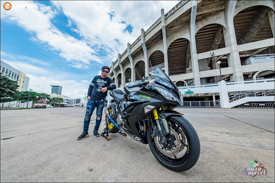 Kawasaki Z800 ban do custom ZX8R limited hoan hao - 11