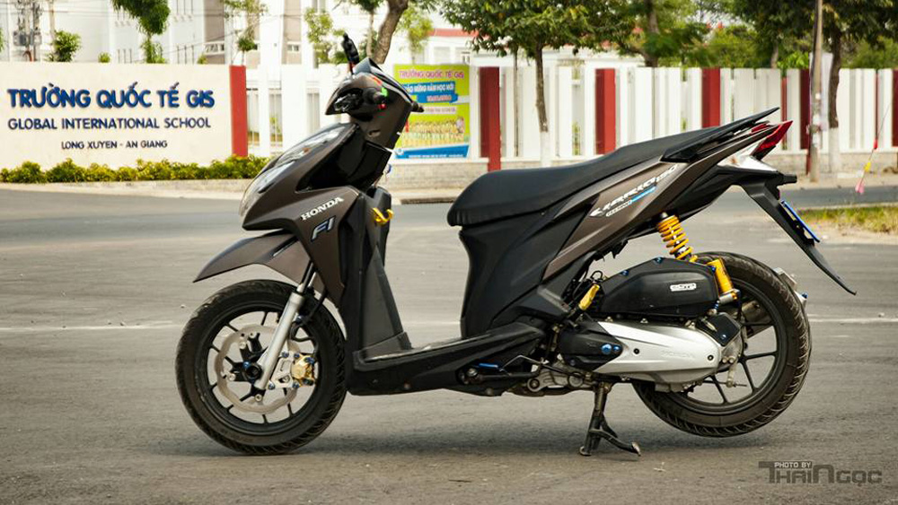 Honda Click 125 day an tuong voi dan do choi cuc chat - 3