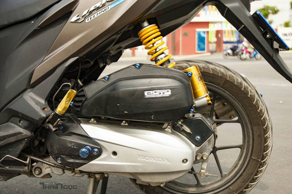 Honda Click 125 day an tuong voi dan do choi cuc chat - 6