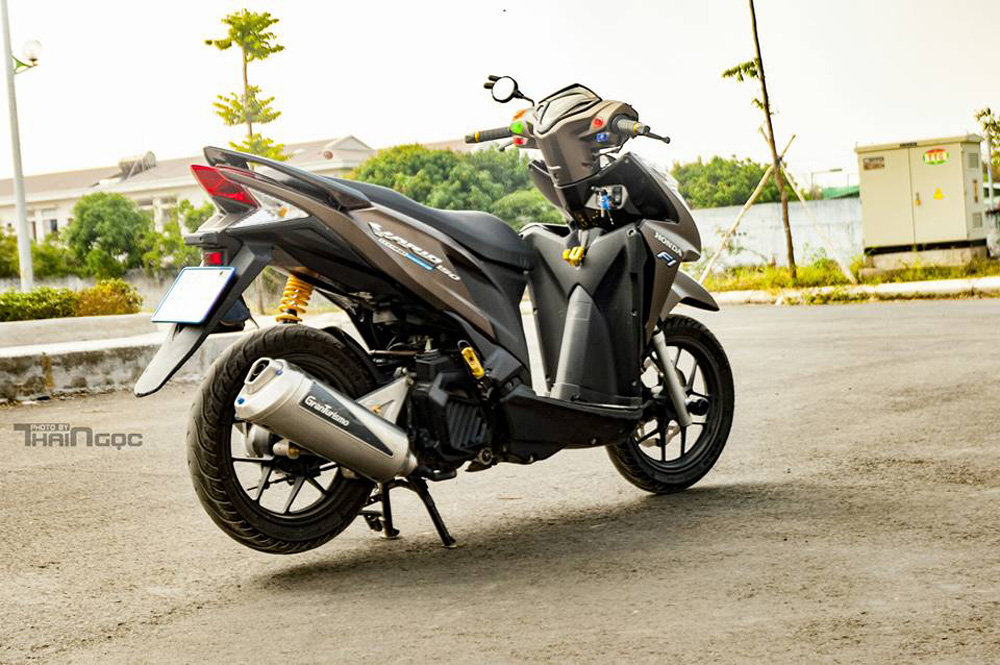 Honda Click 125 day an tuong voi dan do choi cuc chat - 8