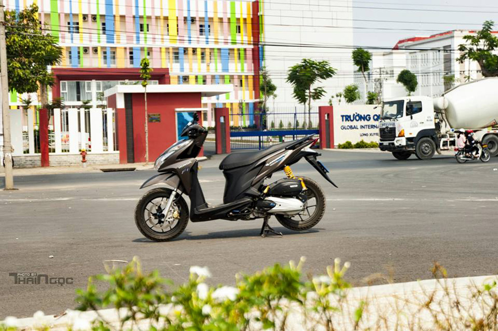 Honda Click 125 day an tuong voi dan do choi cuc chat - 9
