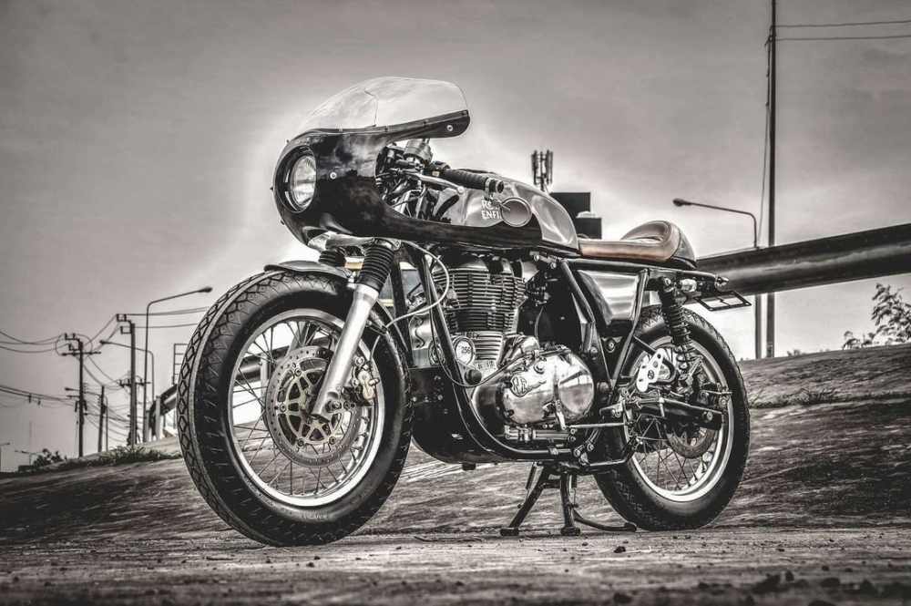Royal Enfield Continental GT535 caferacer HQCN 2017 - 4