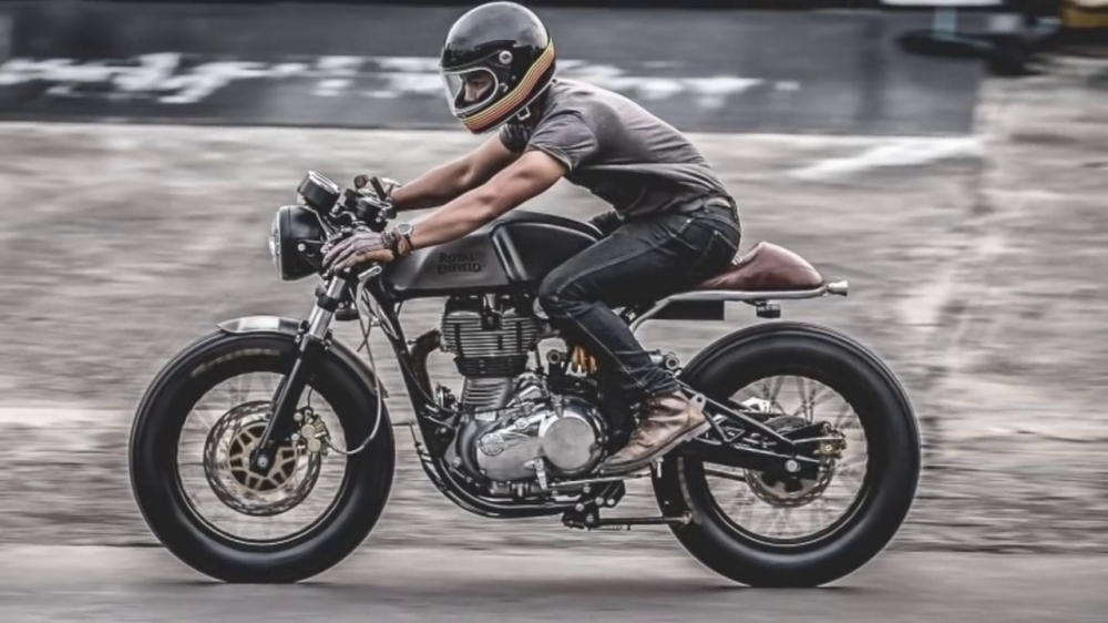 Royal Enfield Continental GT535 caferacer HQCN 2017 - 10
