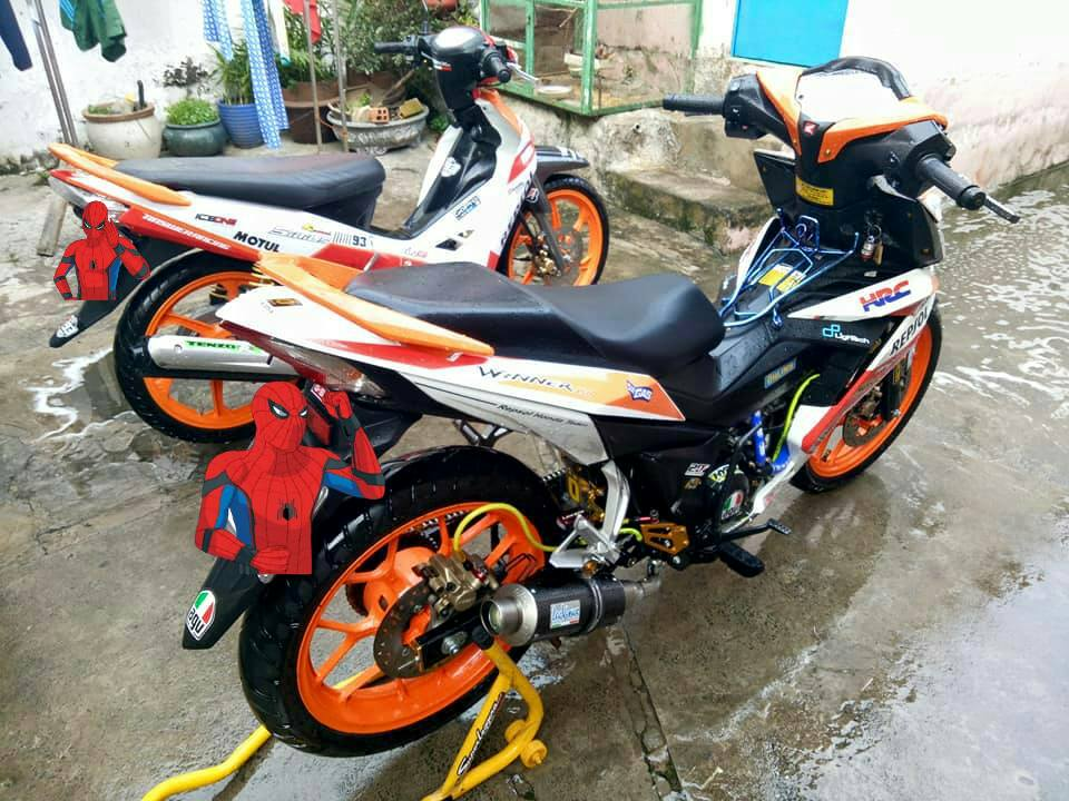 Winner 150 do leng keng voi bo canh Repsol dam chat the thao - 8