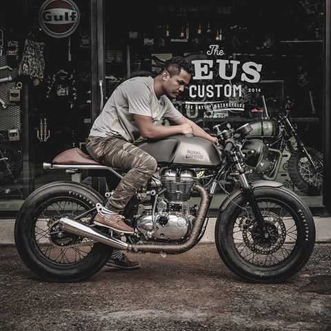 Xin phep ad Thanks ad Royal Enfield Continental GT535 caferacer HQCN 2017 Xe - 3