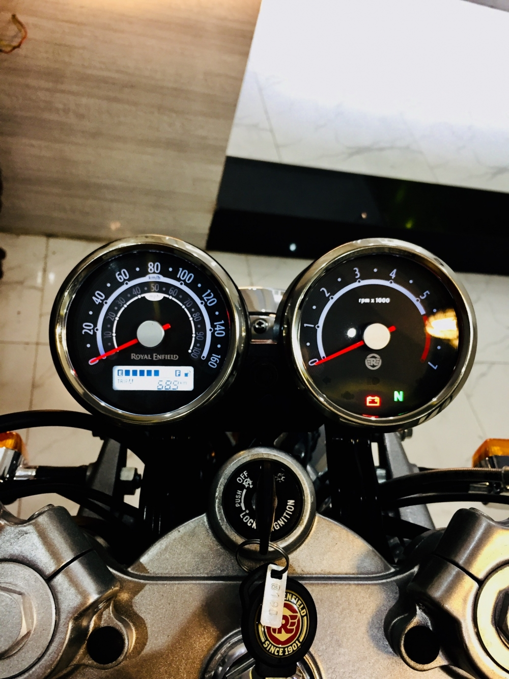 Xin phep ad Thanks ad Royal Enfield Continental GT535 caferacer HQCN 2017 Xe - 5