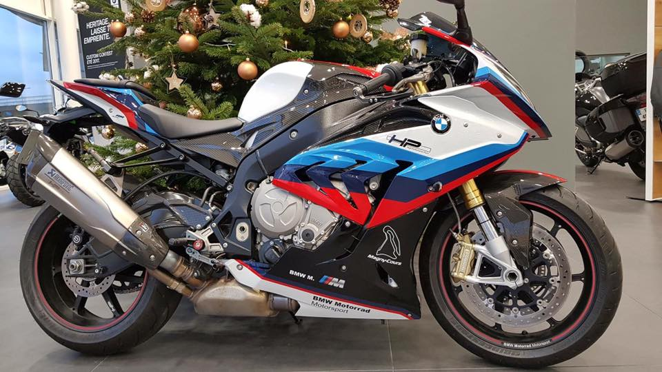 Can canh BMW Motorrad S1000RR 2018 Magny Cours Edition - 2