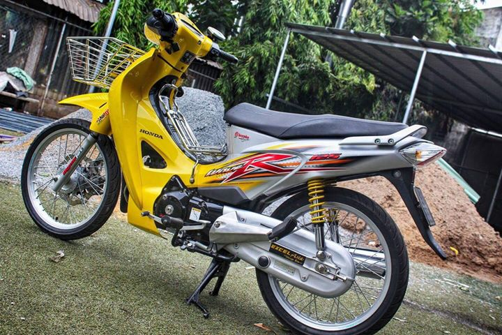 Chiec Honda Future 2 do up full Wave 125 day sang tao - 3